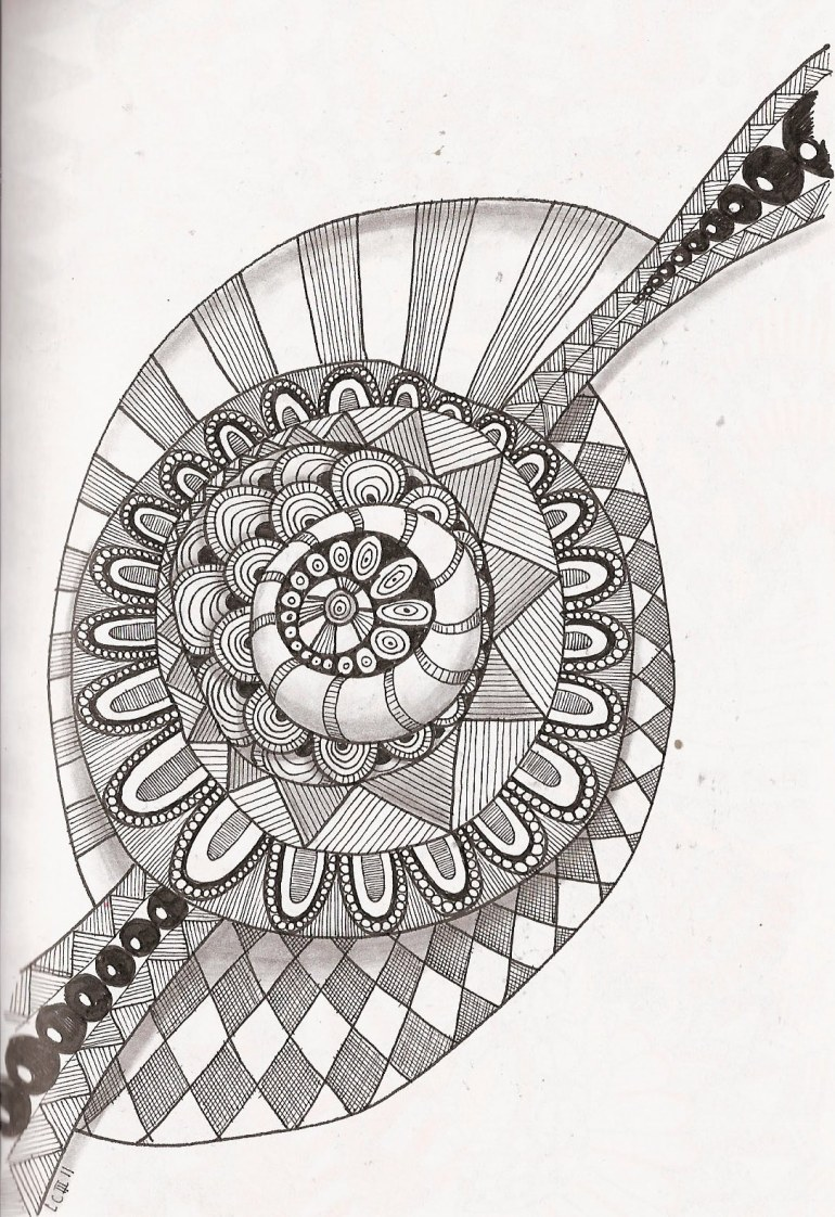 Free Printable Zentangle Coloring Pages for Adults | printable coloring pages for adults