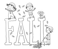 Free Printable Fall Coloring Pages for Kids - Best ...