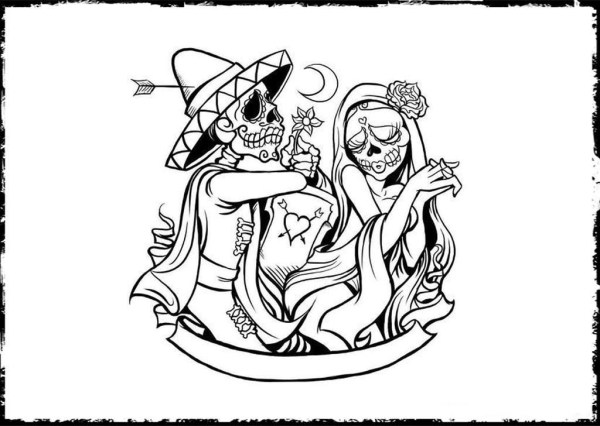 20 Dead Girl Coloring Pages For Adults Ideas And Designs