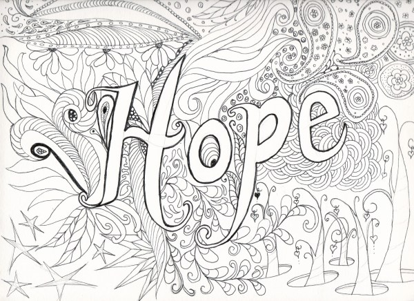 difficult coloring pages for adults # 8