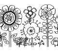 Printable flower coloring pages kids backgrounds of adult smartphone hd to colour for best