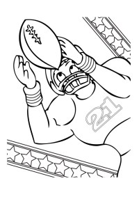 Free Printable Football Coloring Pages for Kids - Best ...
