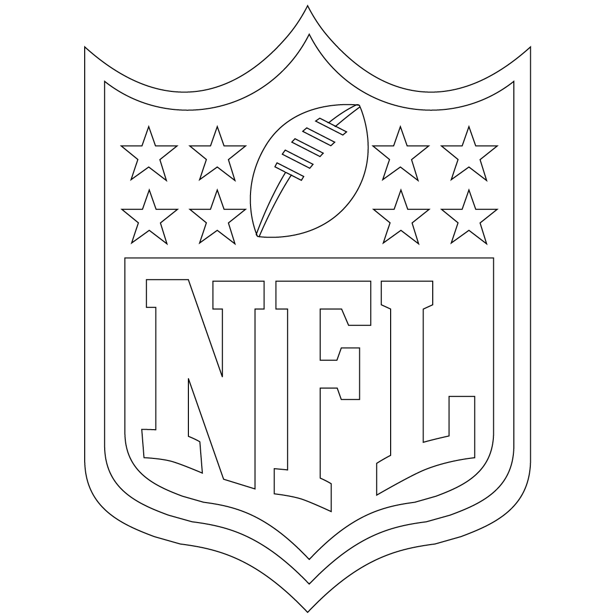 Free Printable Football Coloring Pages For Kids