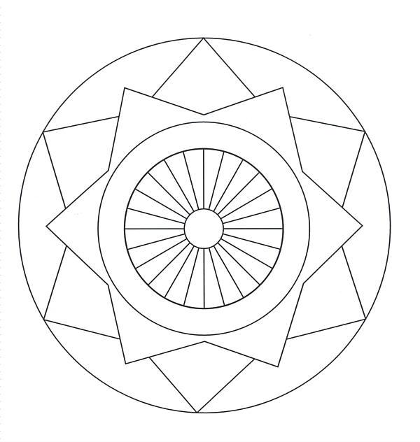 Free Printable Mandalas for Kids - Best Coloring Pages For ... | free coloring pages mandalas