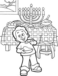 Free Printable Hanukkah Coloring Pages for Kids - Best ...