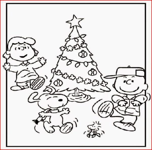 free printable charlie brown christmas