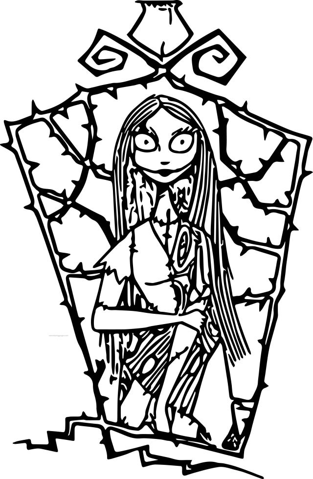 Free Printable Nightmare Before Christmas Coloring Pages - Best