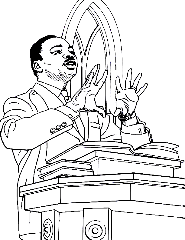 Peters First Sermon Coloring Page Sketch Coloring Page