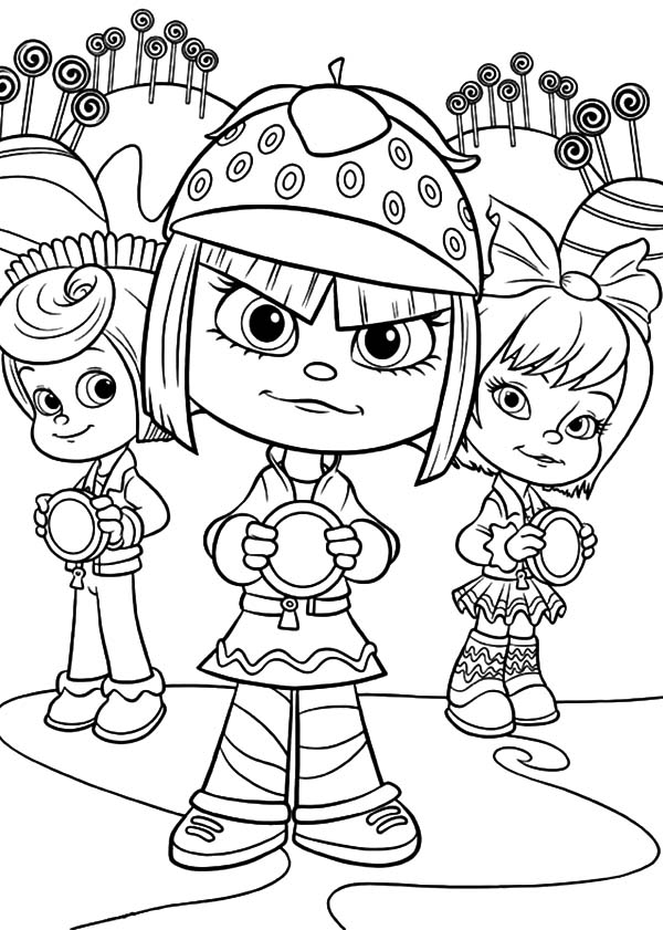 Wreck It Ralph Coloring Page Photo 34956820 Sketch