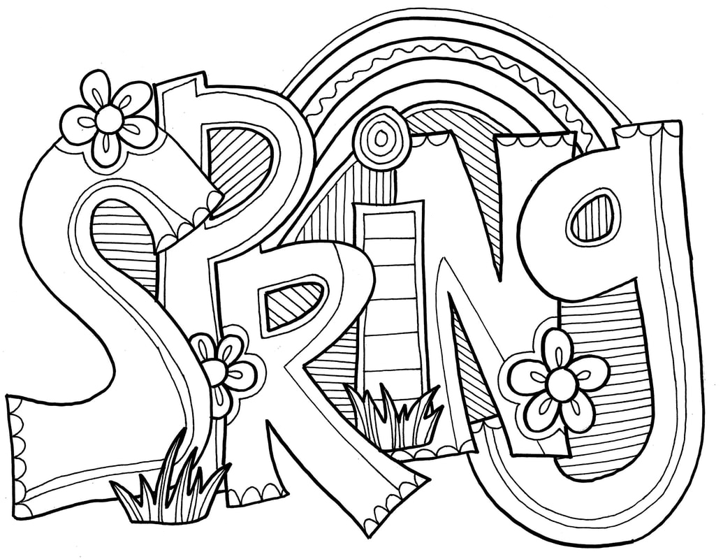 Spring Coloring Pages - Best Coloring Pages For Kids | free printable spring coloring pages