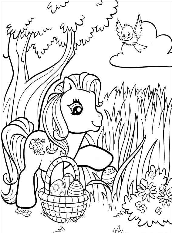 Cute Little Duck Coloring Page