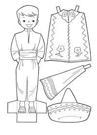 Get This Free Picture of Cinco de Mayo Coloring Pages 57770 ! | 278x200