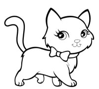 Kitten Coloring Pages - Best Coloring Pages For Kids