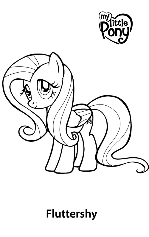 Coloring Pages Of My Little Pony Equestria Images Of My