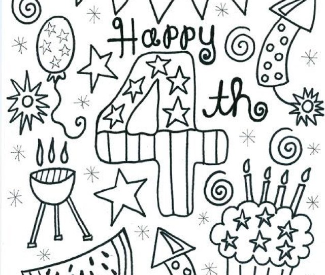 Th Of July Coloring Pages Best Coloring Pages For Kids