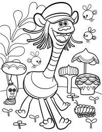 Trolls Movie Coloring Pages - Best Coloring Pages For Kids