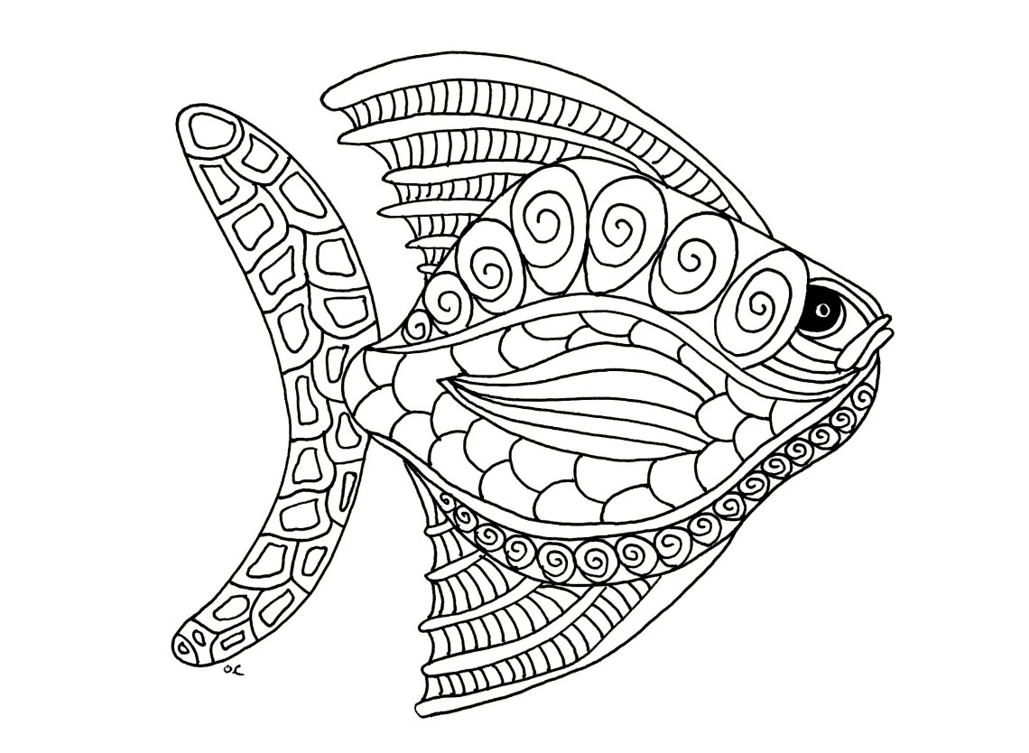 Animal Coloring Pages for Adults - Best Coloring Pages For ... | printable colouring pages for adults animals