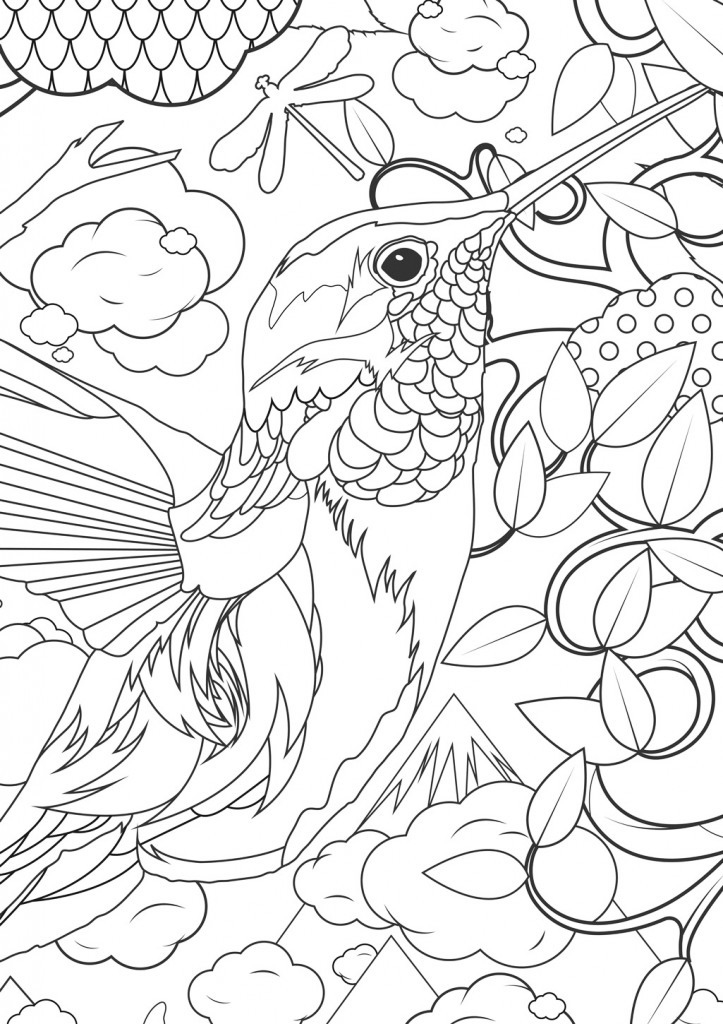 Adult Coloring Pages Animals - Best Coloring Pages For Kids | coloring pages printable animals