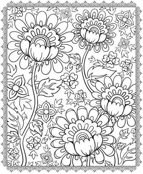 free detailed coloring pages # 19