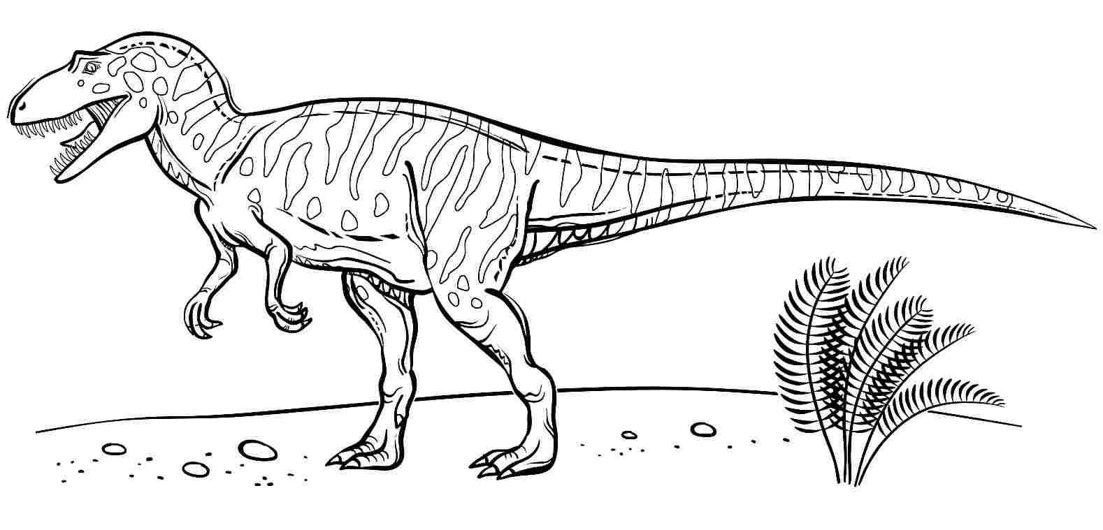 blue velociraptor colouring pages