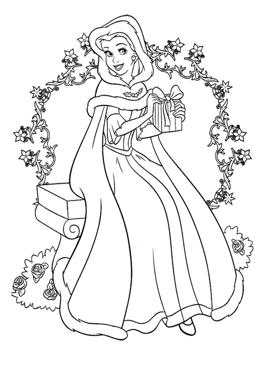 printable disney princess coloring pages # 27