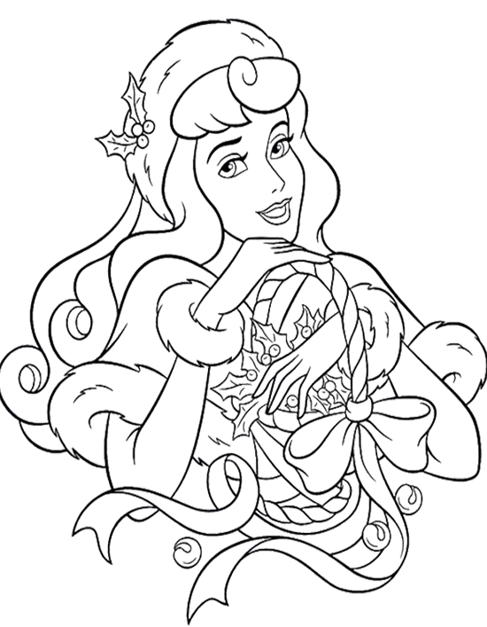 Stunning! Disney Christmas Coloring Pages