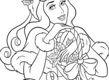 Cinderella - Disney Christmas Coloring Pages