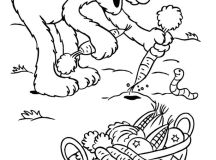 Elmos Harvest Coloring Pages
