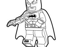 Free Lego Batman Coloring Pages
