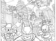 Free Lego Batman Movie Coloring Pages