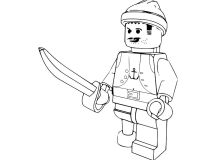 Free Lego Coloring Pages to Print