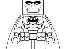 I am Lego Batman - Coloring Pages