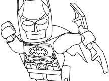 Lego Batman Coloring Pages Free