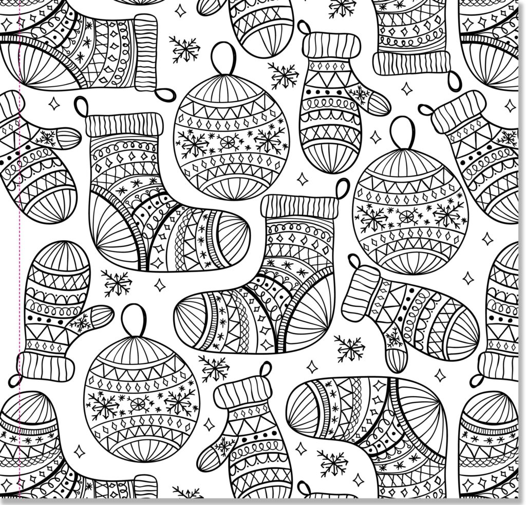 Christmas Coloring Pages for Adults - Best Coloring Pages ... | christmas colouring pages for adults