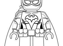 Print Free Lego Batman Coloring Pages