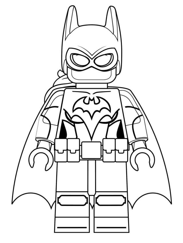 Lego Batman Coloring Pages - Best Coloring Pages For Kids