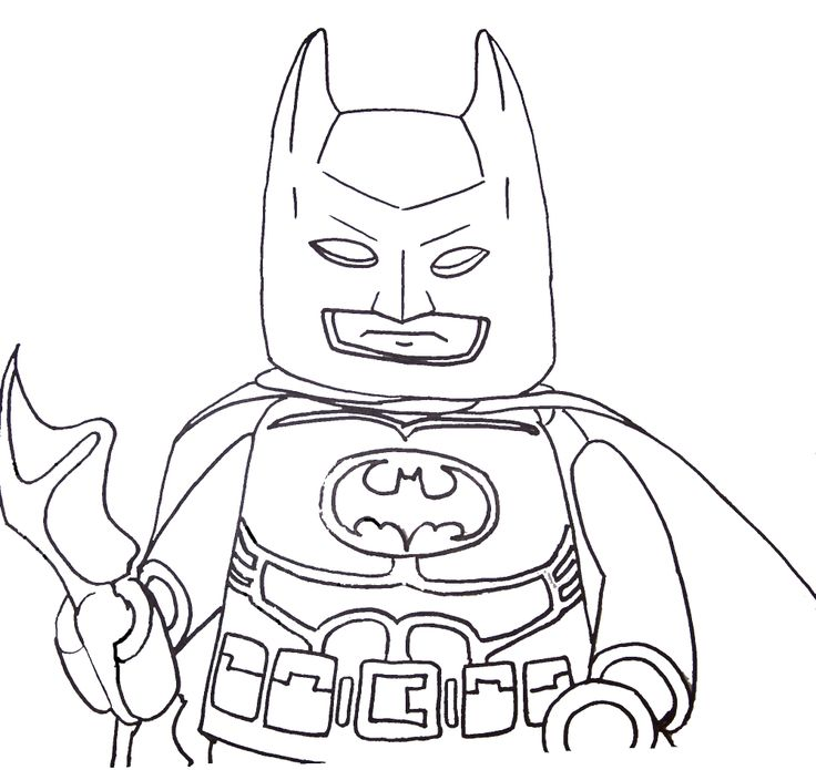 Stunning! Lego Batman Coloring Pages