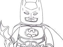 Print Lego Batman Coloring Pages