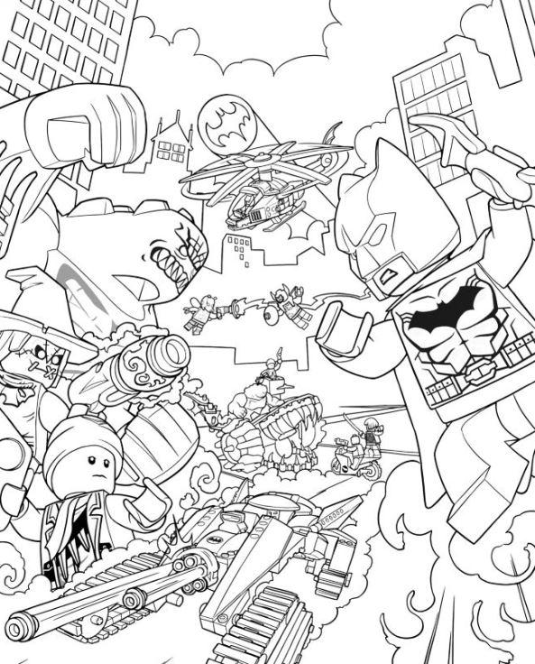 Wunderbar Lego Batman Farbseiten Bilder - Beispiel Anschreiben für ...