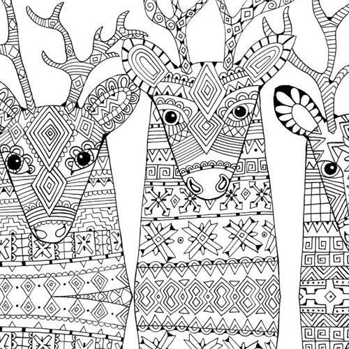adult christmas coloring pages # 24