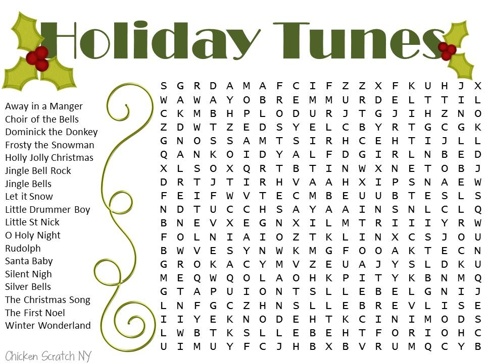 Stunning! Christmas Word Search