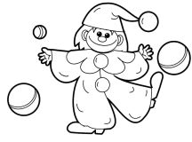 Fun Toy Coloring Page