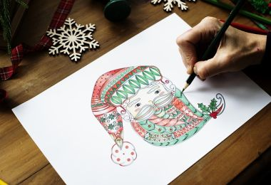 3 Amazing Benefits for Parents and Children That Color Together During Holiday Break