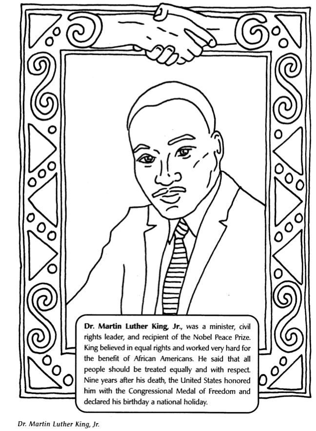 Marvelous! Black History Month Coloring Pages