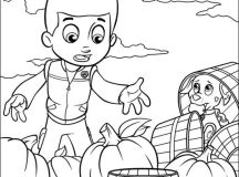 Color Paw Patrol Coloring Pages