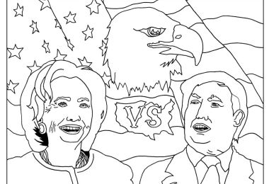 Donald Trump Coloring Pages