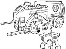 Download Free Paw Patrol Coloring Page