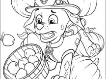 Fun Paw Patrol Coloring Pages