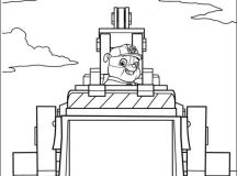 Paw Patrol Coloring Sheet