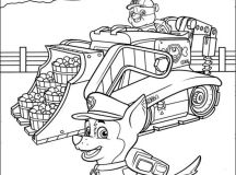 Paw Patrol Coloring Sheets